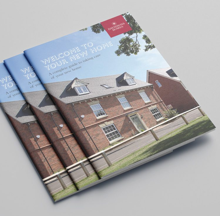 Davidsons Homes New Home brochure